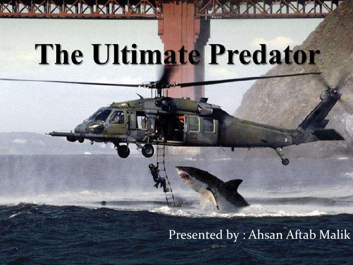 The Ultimate Predator<br />Presented by : Ahsan AftabMalik<br />