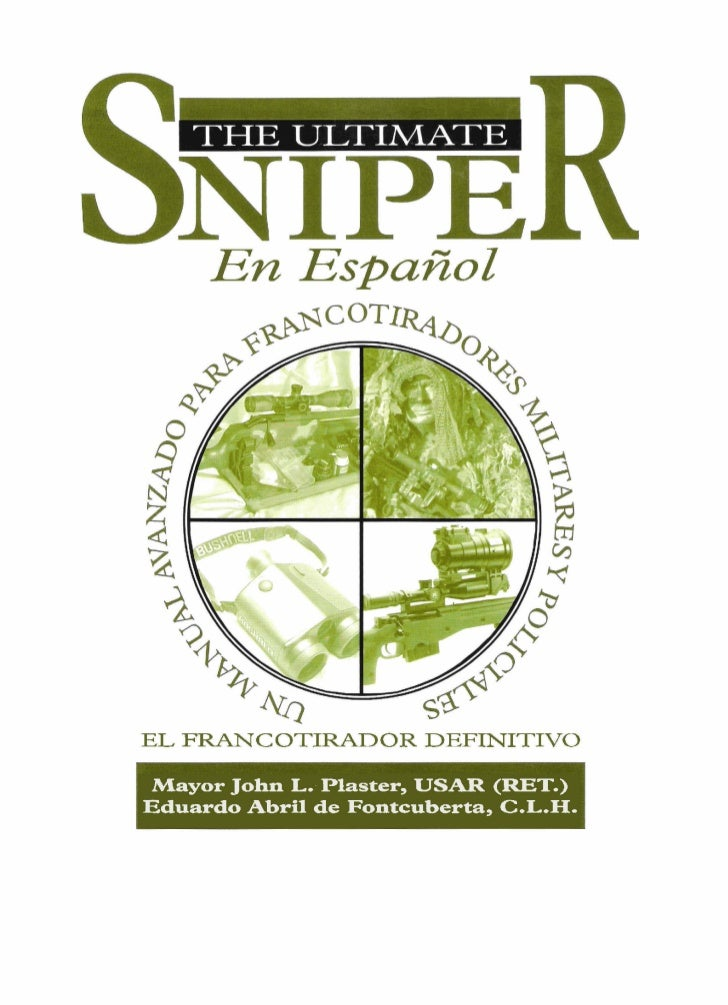 The ultimate sniper en español (portada y prologo)
