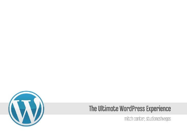 The Ultimate WordPress Experience (#podcincy)