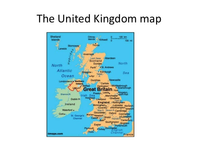 The united kingdom_map