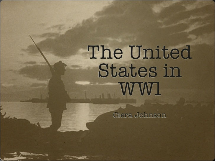 The United States in WW1