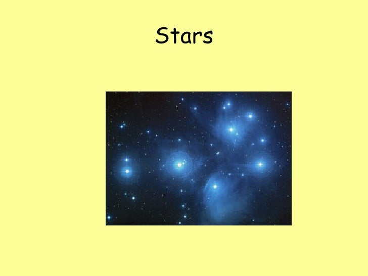 The universe.unit 7 the stars