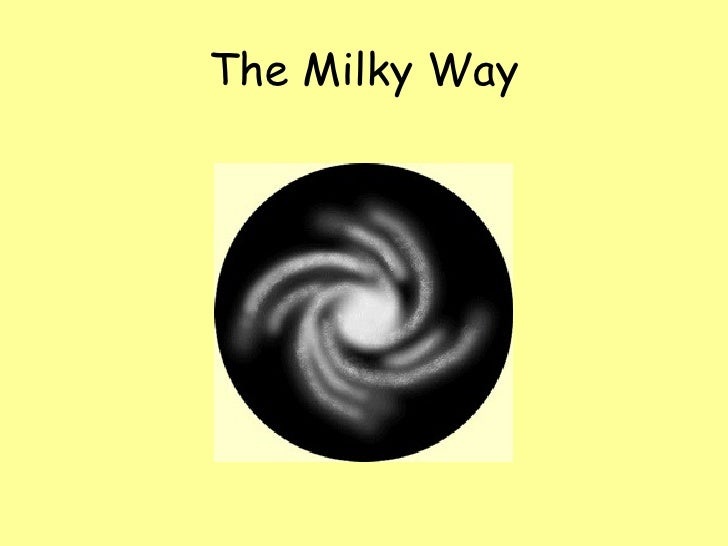 The universe. unit 8. the milky way.power point