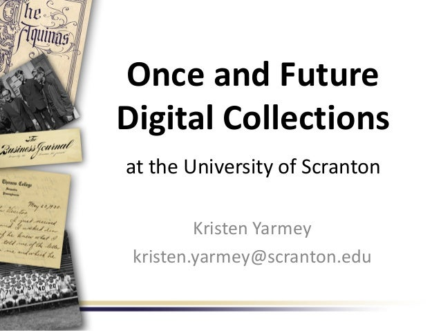 Once and Future Digital Collections