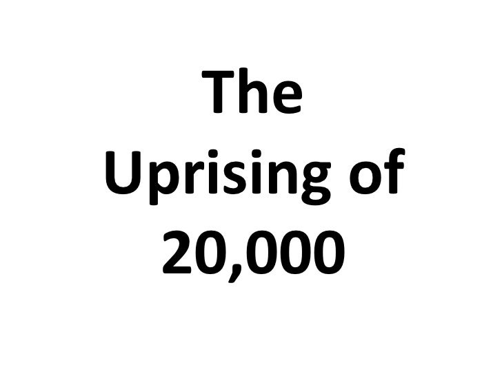 TheUprising of 20,000