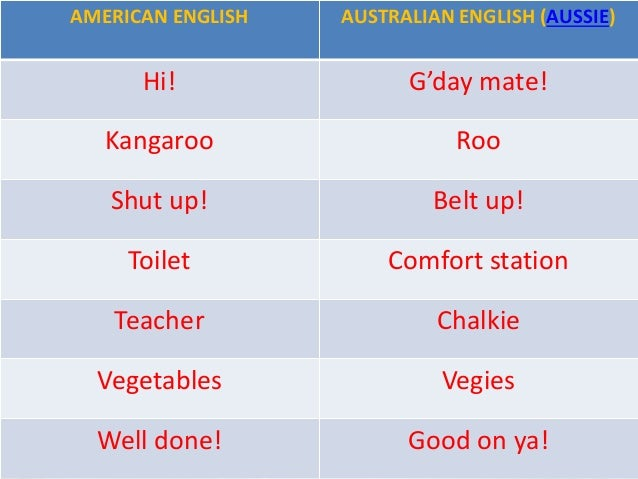 The Usa And Australia Esl Class on 9