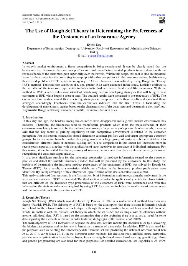 European Journal of Business and Management www.iiste.org ISSN 2222-1905 (Paper) ISSN 2222-2839 (Online) Vol.6, No.22, 201...