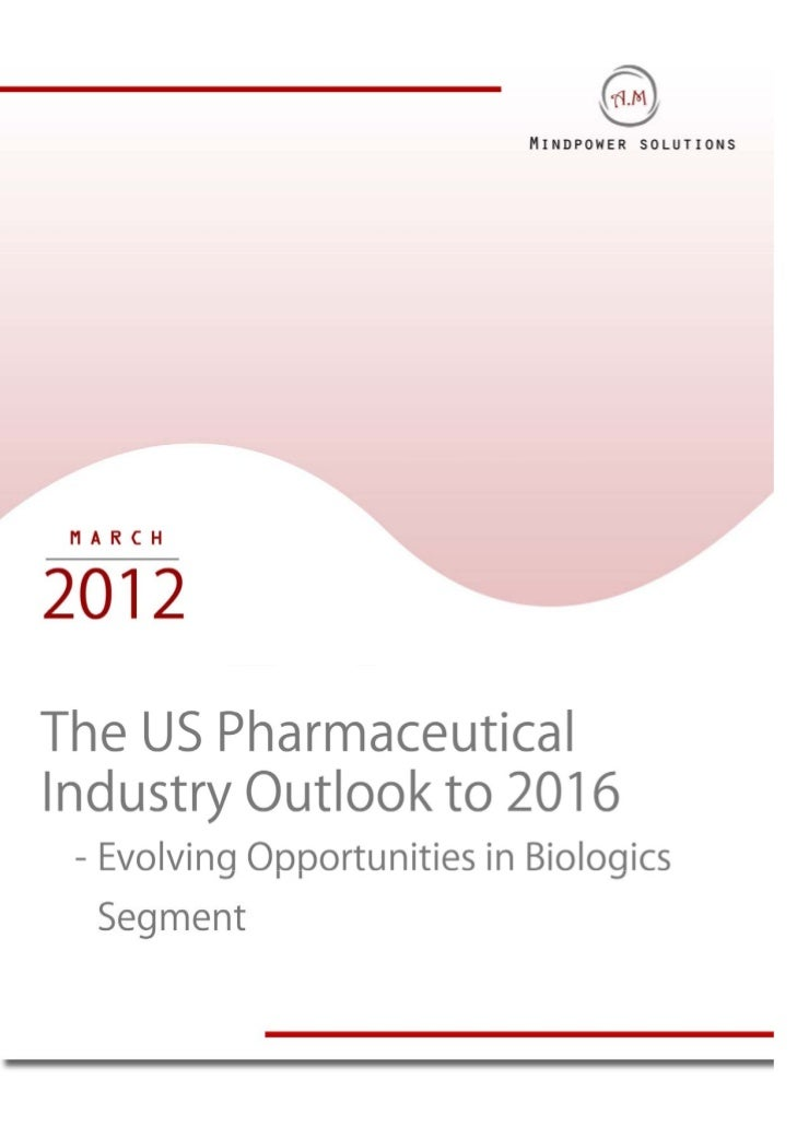 TABLE OF CONTENTS1.     The US Pharmaceutical Industry Introduction2.     The US Pharmaceutical Market Size, 2005-20103.  ...