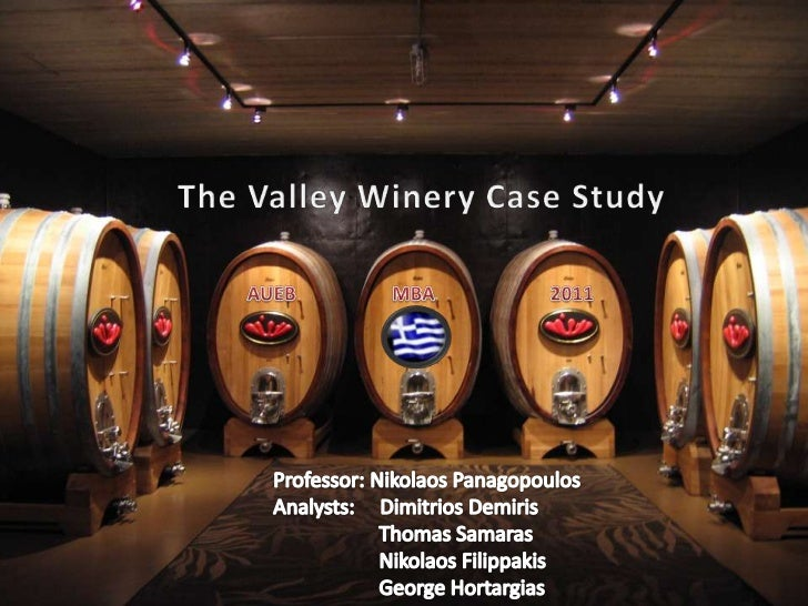valley winery case Our wines are best served with life ®, we just need to verify your age before  serving by entering the edna valley vineyard website you affirm that you are of.