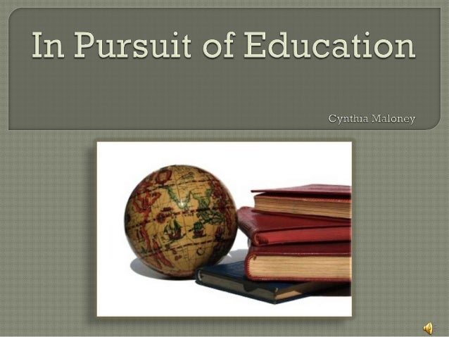 The value of education powerpoint