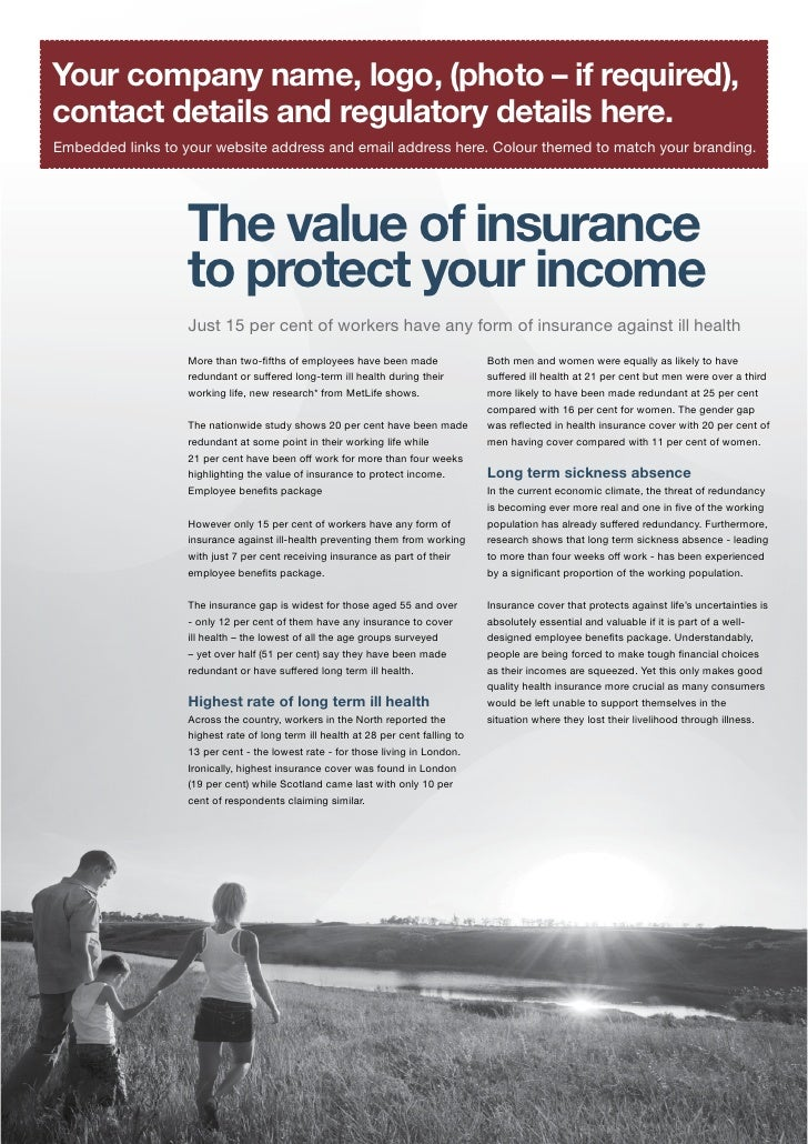 The Value Of Insurance