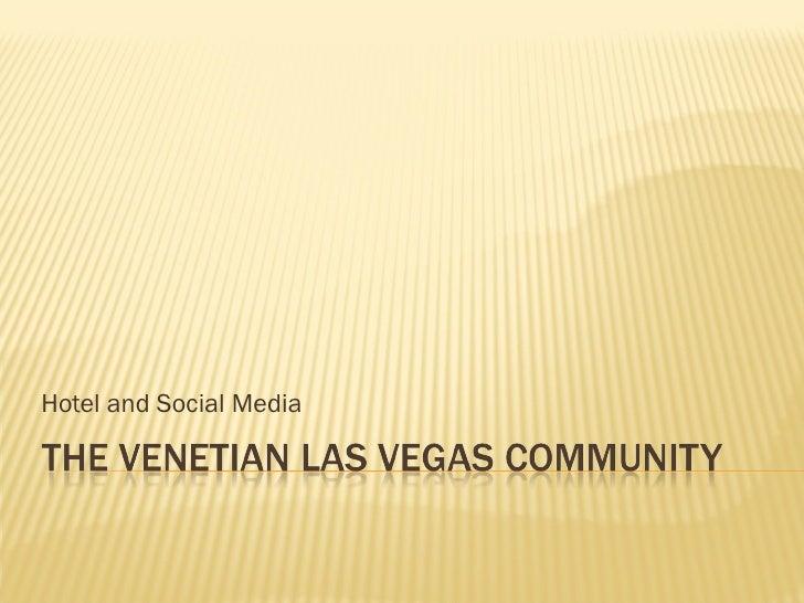 The Venetian Las Vegas Community