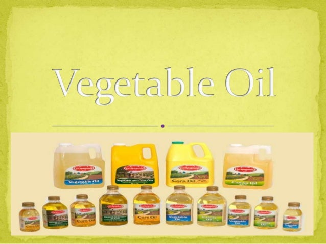 is a triglyceride extracted from a plant.  any of a group of oils that are esters of fatty acids and glycerol and are ob...