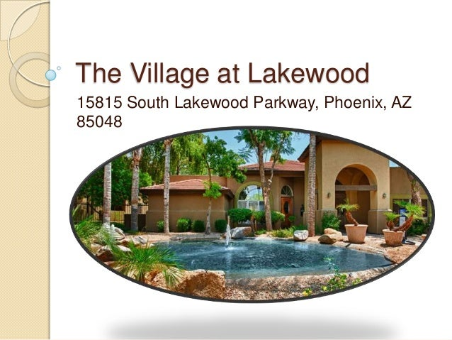 Village At Lakewood Apartments Phoenix Az