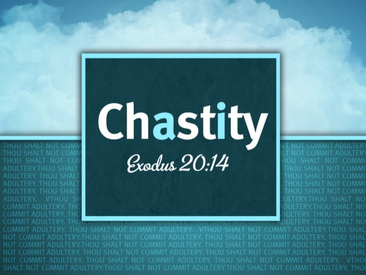 The virtue of chastity