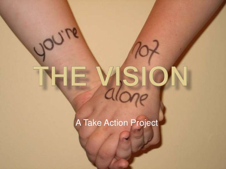 THE VISION<br />A Take Action Project<br />