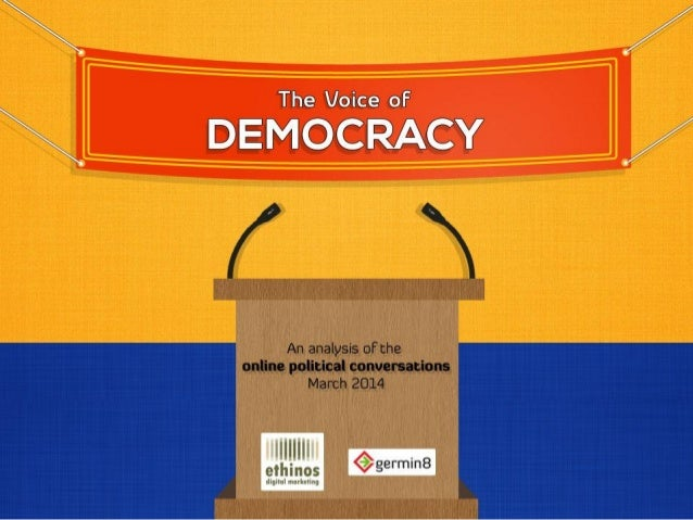The Voice of Democracy - March 2014 - #Elections2014