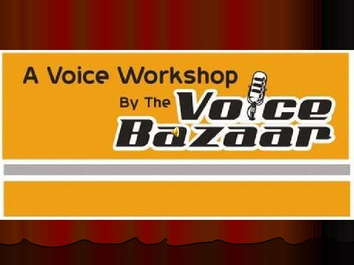 The Voice Workshop Mailer 1