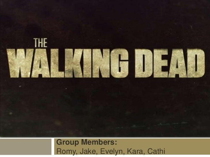 Walking Dead Powerpoint The Walking Dead Power Point