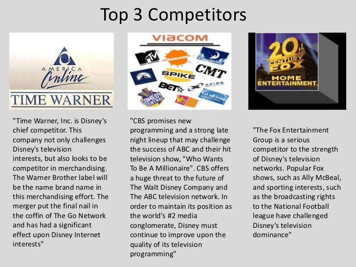 walt disney five forces competitive analysis Check out our top free essays on disney five forces to the entertainment king case analysis the walt disney the model uses five competitive forces that.