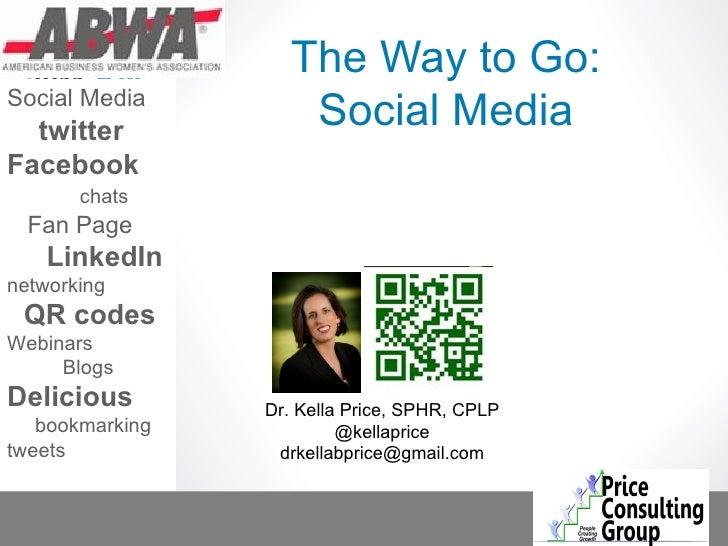 The way to go social media