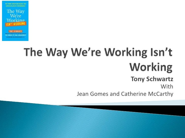 The way we're_working_isn't_working
