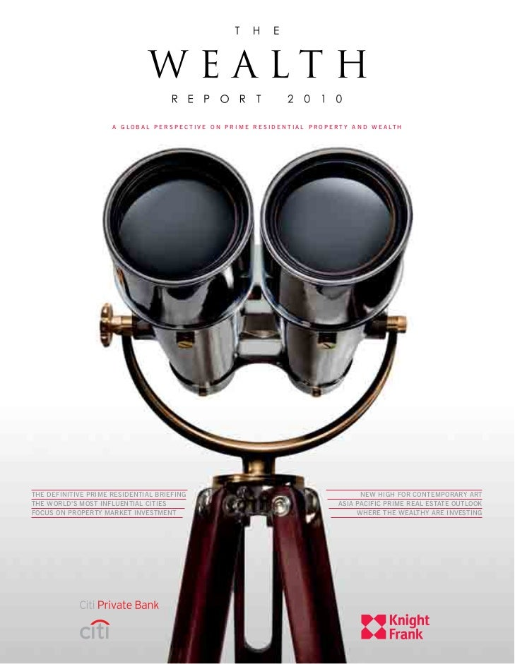 The Wealth Report 2010