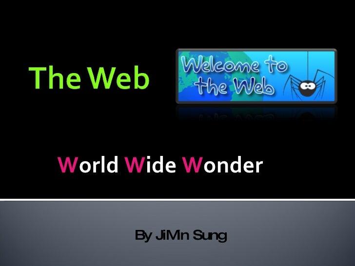 W orld  W ide  W onder By JiMin Sung