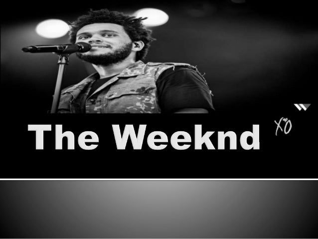   The Weeknd is a recording artist and record producer born in Toronto, Canada    His real name is Abel Tesfaye born Feb...