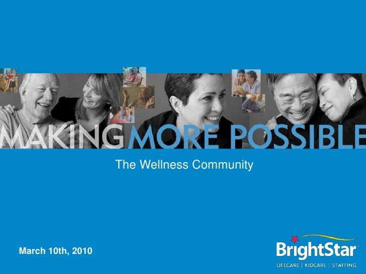 The Wellness Community<br />March 10th, 2010<br />