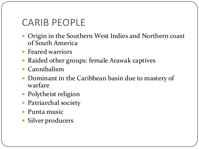 The Indians of the West Indies - Dead or Alive?