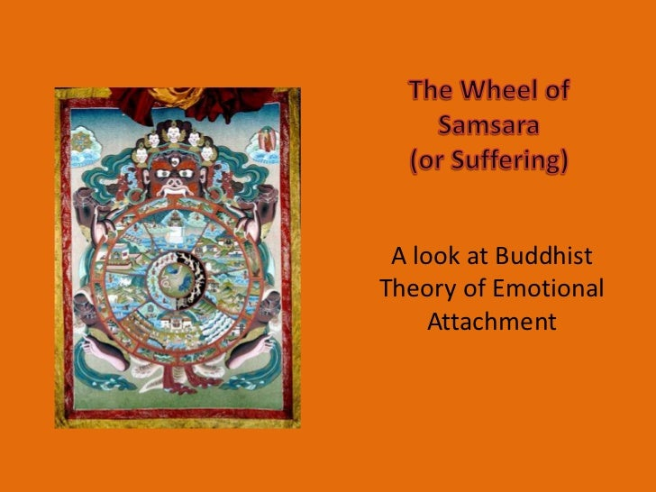 The Wheel of Samsara                       (or Suffering)<br />A look at Buddhist Theory of Emotional Attachment<br />