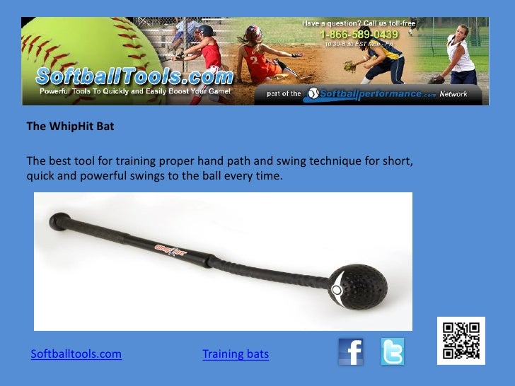 The WhipHit BatThe best tool for training proper hand path and swing technique for short,quick and powerful swings to the ...