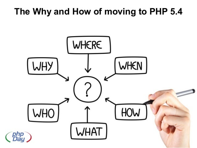 The why and how of moving to php 5.4