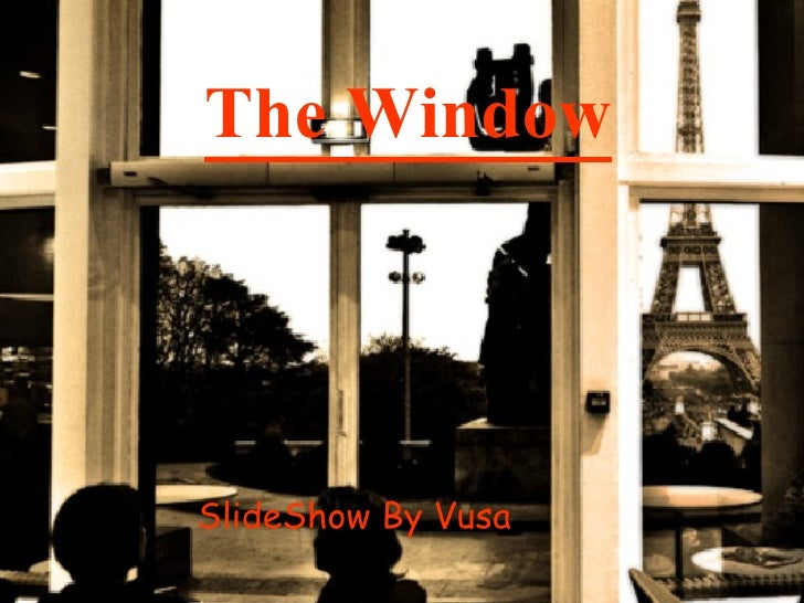 The Window (story with lesson)