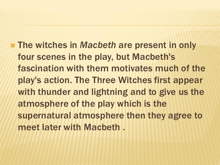 where do the witches first meet macbeth