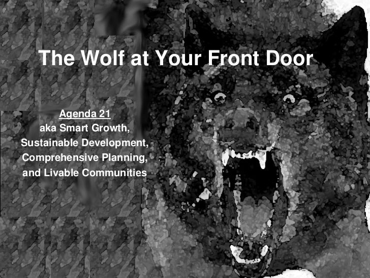 Smart Growth: The Wolf At Your Front Door