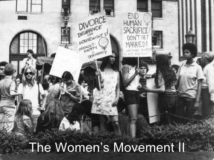 The Women's Movement II
