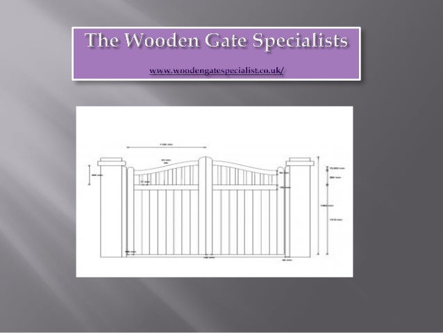 The wooden gate specialists