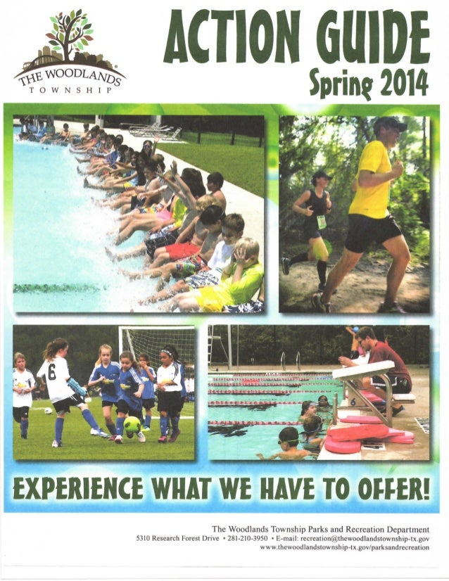 The Woodlands Action Guide - Spring 2014