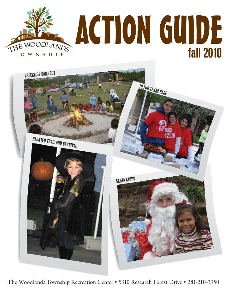 The woodlands fall action guide 2010
