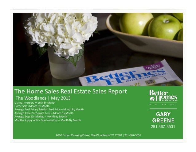 The Woodlands Real Estate Reports - May 2013 | BHGREGG