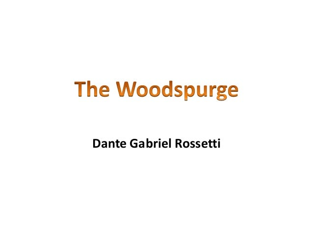 The woodspurge