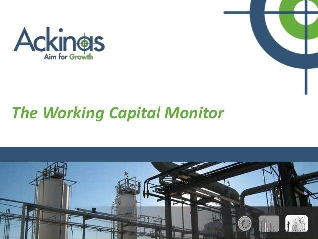 The working capital monitor + screenshots