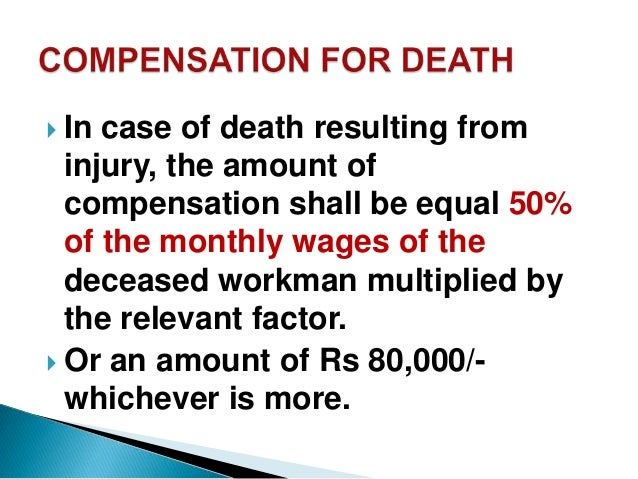 the workmen s compensation act 1923 Punjab laws online   1/28 the workmen's compensation act 1923 (viii of 1923) c o n t e n t s.