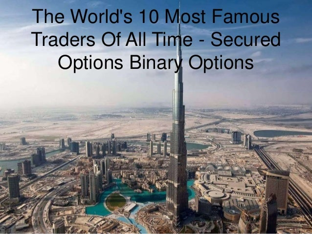 World's best options traders