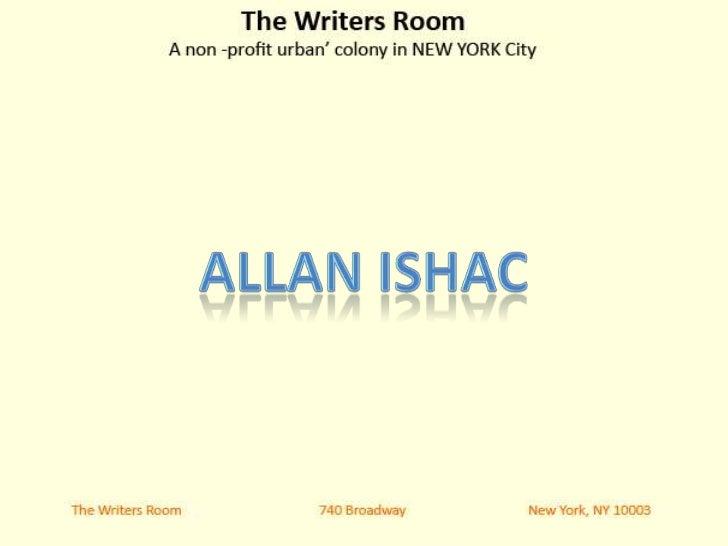 Creative writing nyc