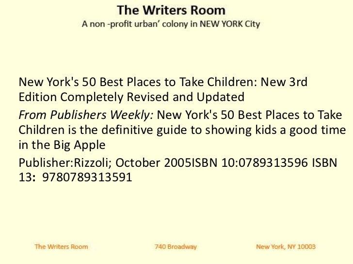 creative writing kids nyc