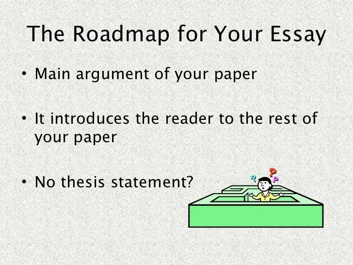 Argument of definition essay