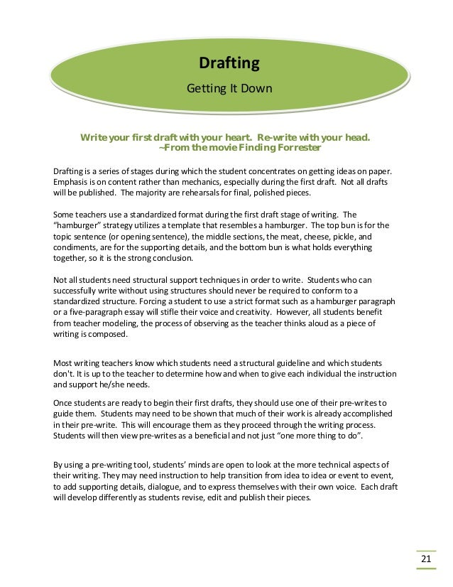 How a good outline can make the writing process more effective.?